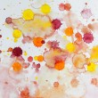 Stock Photo: Watercolor blots