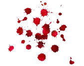 Red blots — Stock Photo