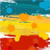 Color blots — Stock Vector