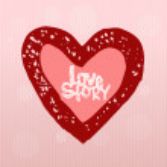 Love story, heart — Stock Vector #23760065