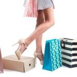 Girl on shopping — Stock Photo #28950193