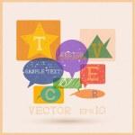 Multicolored speech bubbles — Stock Vector #28950279