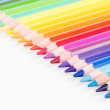 Colour pencils isolated on white background — Stock Photo #30454659