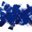 Blue Blots, watercolour — Stock Photo