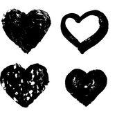 Hjärtat siluett — Stockvektor