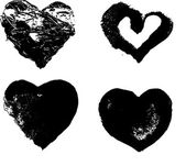Heart silhouette — Stock Vector