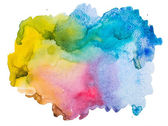 Watercolour abstract background — Stock Photo