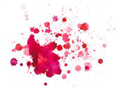 Watercolour blots — Stock Photo