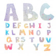 watercolor alphabet — Stock Photo #37671243