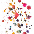 Stock Photo: Watercolour blots