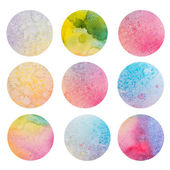 Abstract grunge aquarelle background, paper texture. Hand drawn watercolour illustration — Stock Photo