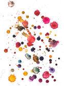 Watercolour blots — Stock Photo
