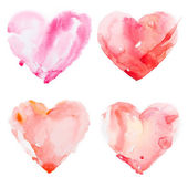 Watercolour heart — Stockfoto