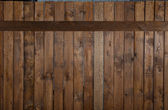 Background texture of old wooden lining boards wall — Stock Photo