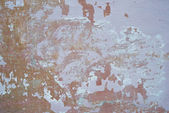 Grunge background textured wall with Old peeling cracked chipped paint on wooden surface — Stock Photo