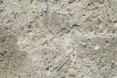 Cracked old gray cement concrete stone wall vintage dirty texture background — Stock Photo