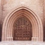Door of church 2 — Stock Photo