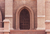 Door of church — Stock Photo