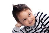 Little boy clouse up — Stock Photo