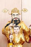 Chinese deities statue. — Stock Photo