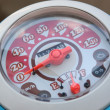 Speedometer Motorcycle. - Foto Stock