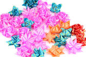 A lot of Color Ribbon make Style. — Stock Photo