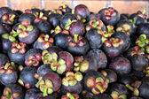 A Mangosteen is Fruit in Thailand. — Stock Photo