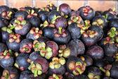 Um mangostão é fruto na tailândia. — Foto Stock