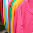 Long sleeves multicolored. — Stock Photo