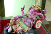 Ganesh Statue replica in the box set. — Stock Photo