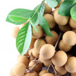 Close up longan of fruit. — ストック写真