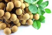 Close up longan of fruit. — Stock Photo