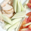 Stock Photo: Closeup Vegetable mix in picture and have Lemon grass,Galang