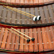 Xylophone Musical instrument of Thailand. — Stock Photo
