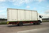 Trucks running on the roads. — Stock Photo