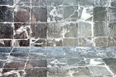 Wall and floors of Gray Stone. — Stock Photo