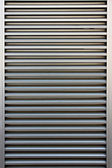 Aluminum doors of background. — 图库照片
