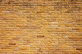 Orange brick wall. — Stock Photo
