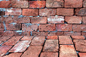 Red Brick of background. — Stock Photo