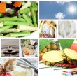 Concepts of food for good health. — Stock Photo