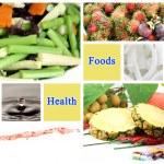 Healthy foods make good health. — Stock Photo