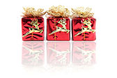 Red gift box. — Stock Photo