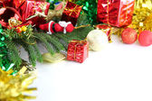 Equipment ideas of Christmas and New Year day. — Foto de Stock