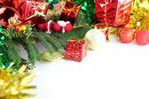 Idéias de equipamentos do dia de natal e ano novo. — Fotografia Stock