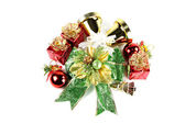 Accessory decorations of Christmas. — Foto de Stock