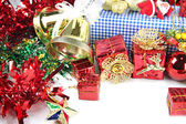 Accessory decorations in Christmas or New Year. — Stock Photo