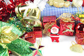 Santa doll and Accessory decorations of Christmas day. — ストック写真