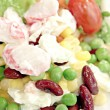 Tunny salad with mixed vegetables. — Stock Photo #37803891