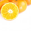 Stock Photo: Fresh mandarin Orange.