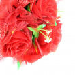 Bouquet of red rose isolated. — Stock Photo #40602047